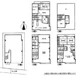 建物面積429.53㎡(129.93坪)♪(間取)