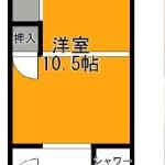 10.5帖洋室♪(間取)